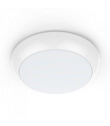 V-Tac 15W LED loftslampe - Mikrobølgesensor, skumringssensor, vågelys, IP65, inkl. lyskilde