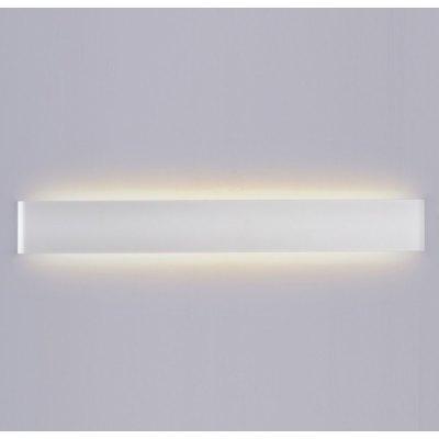 Image of   V-Tac 20W LED hvid aflang væglampe - Indirekte, IP44, 230V, inkl. lyskilde - Kulør : Varm, Dæmpbar : Ikke dæmpbar