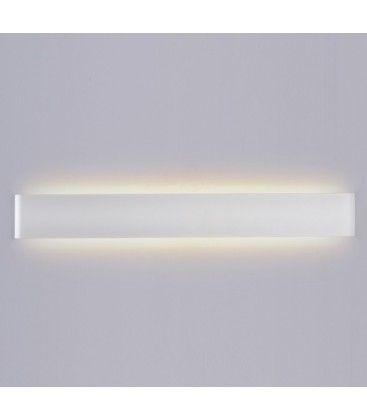 V-Tac 20W LED hvid aflang væglampe - Indirekte, IP44 udendørs, 230V, inkl. lyskilde
