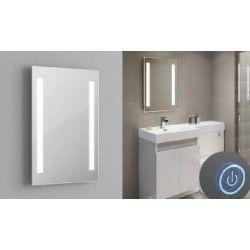 Lamper Spejl med indbygget LED lys - 37W, Touch, Justerbar varm-koldt lys