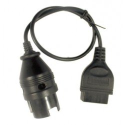 obd.merc38pin.cable: Mercedes 38 pin til standard OBDII 16 pin