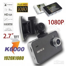 """Restsalg: Bil kamera, DVR, FullHD 1080P, 2.7"""" skærm, G-Sensor, motion detection"""