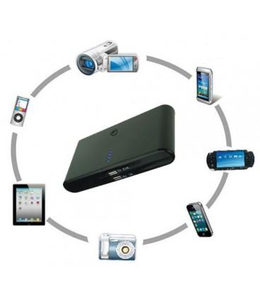 Mobil batteri lader til IPhone, Android, Nokia m.f., Sort