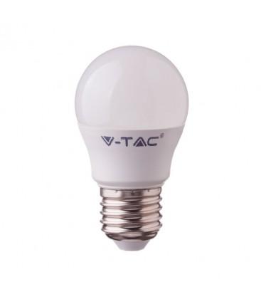 V-Tac 3W LED pære - G45, kompakt, E27