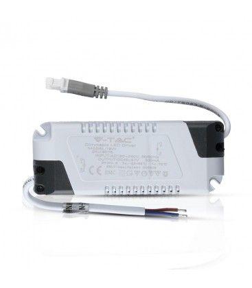 V-Tac 18W dæmpbar driver - Passer til V-Tac 18W indbygningspaneler