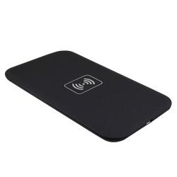 mobil.wireless.black: Trådløs Qi mobil oplader, Sort,