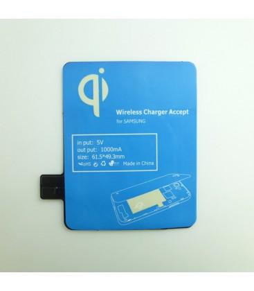 Trådløs opladning til Samsung Note 2, modtager