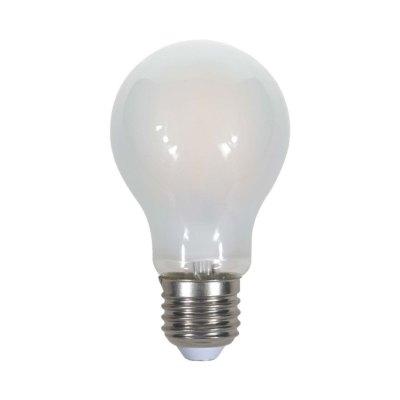 Image of   V-Tac 5W LED pære - Kultråd, matteret, A60, E27 - Kulør : Neutral, Dæmpbar : Ikke dæmpbar