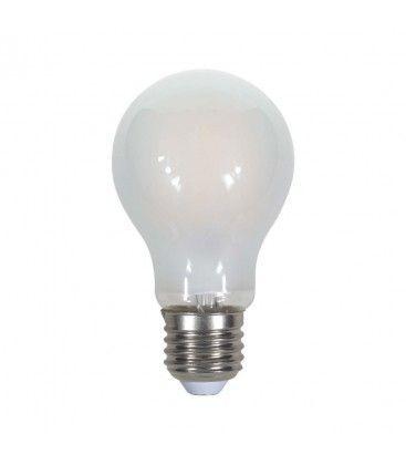 V-Tac 5W LED pære - Kultråd, matteret, A60, E27