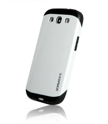 Samsung S3 cover, Slim Armor, Hvid
