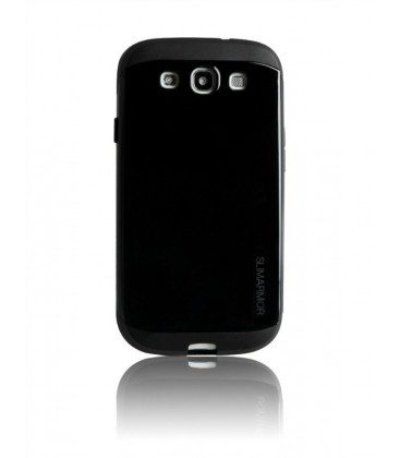 Samsung S3 cover, Slim Armor, Sort