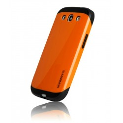 Samsung S3 cover, Slim Armor, Orange