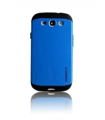 Samsung S3 cover, SPIGEN Slim Armor, Blå