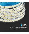 V-Tac 15W/m LED strip - Samsung LED chip, 10m, IP20, 24V, 240 LED pr. meter