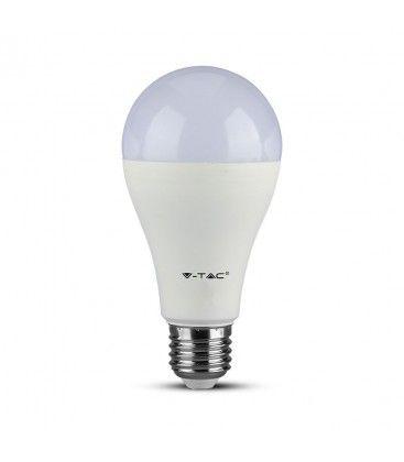 V-Tac 15W LED pære - Samsung LED chip, A65, E27