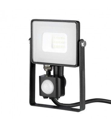 V-Tac 10W LED projektør med sensor - SMD, Samsung LED chip