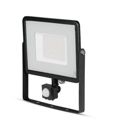 V-Tac 50W LED projektør med sensor - SMD, Samsung LED chip
