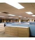 LED Panel 120x30 - 45W, UGR, 3600lm, hvid kant