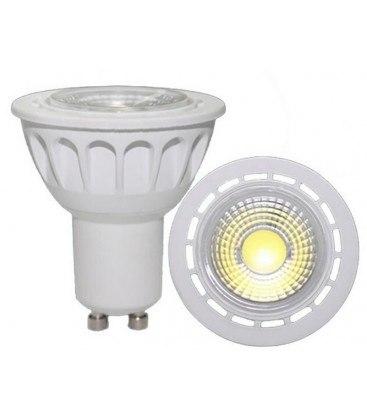 LED Spot i hvid/sort lumen lys