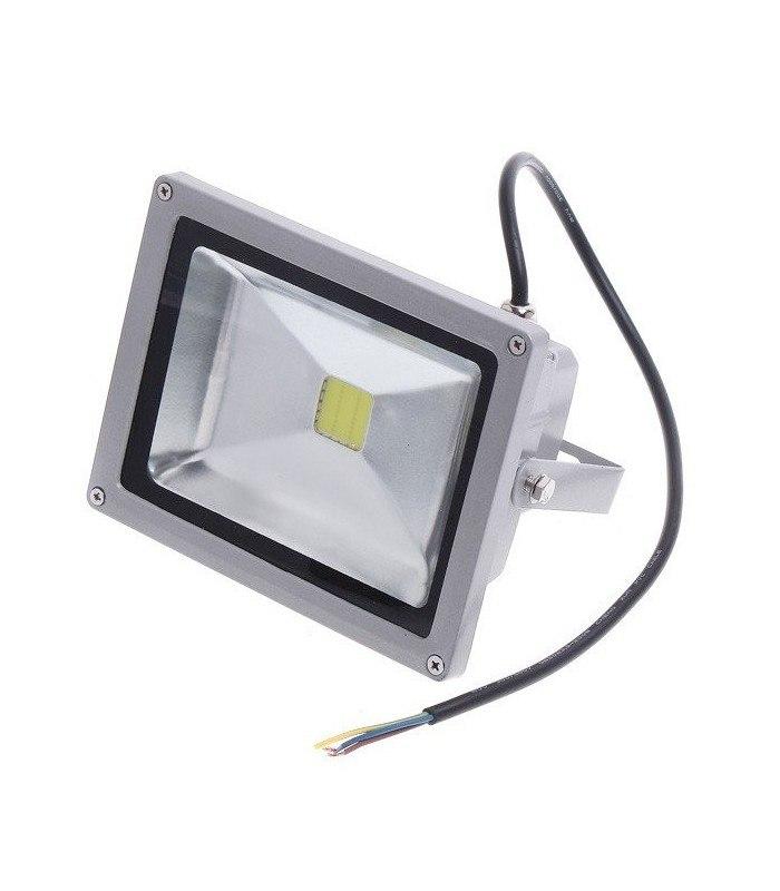 LED projektør med sensor